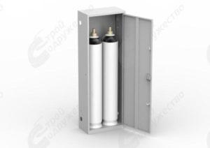 ШГР 40-2 Шкаф для газовых баллонов