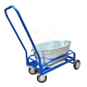 Тележка для дворника с поворотными колесами